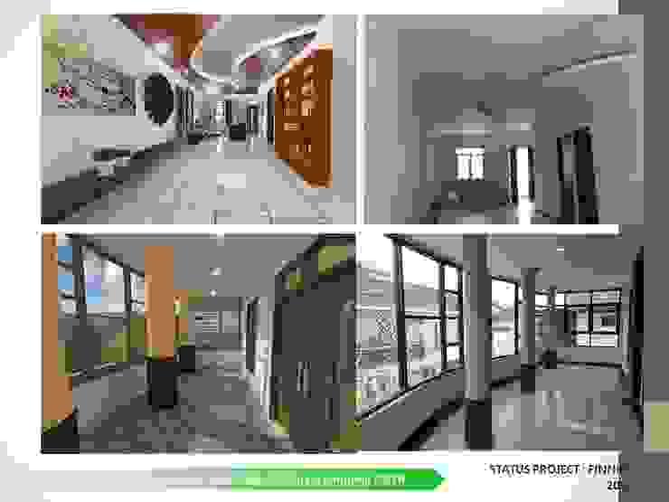 现代客厅設計點子、靈感 & 圖片 根據 ARCHDESIGNBUILD7 現代風