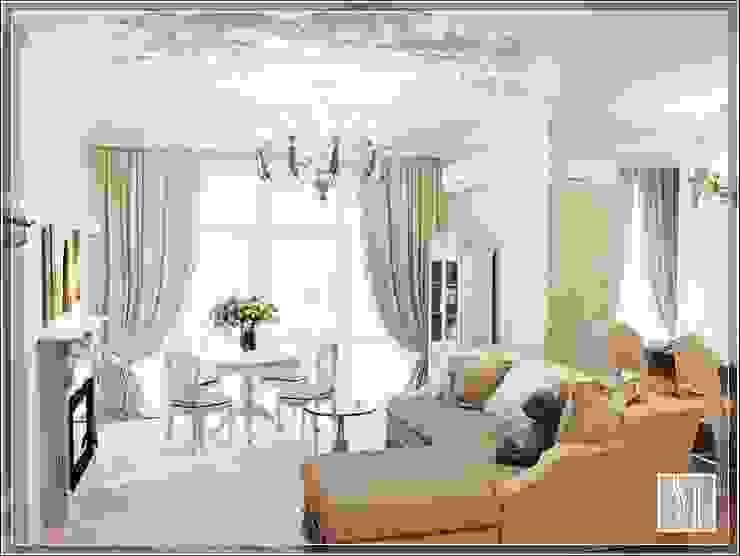 Бизе Гостиная в классическом стиле от Студия дизайна Светланы Исаевой Классический