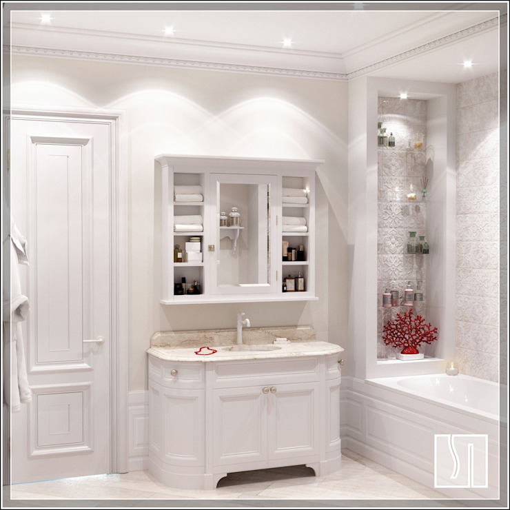 Бизе Ванная в классическом стиле от Студия дизайна Светланы Исаевой Классический