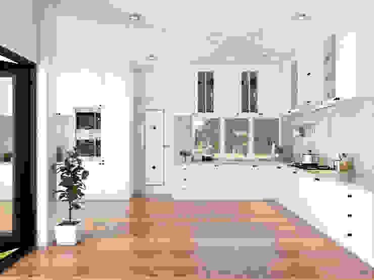 Dapur Oleh PT. Leeyaqat Karya Pratama Modern Kayu Wood effect