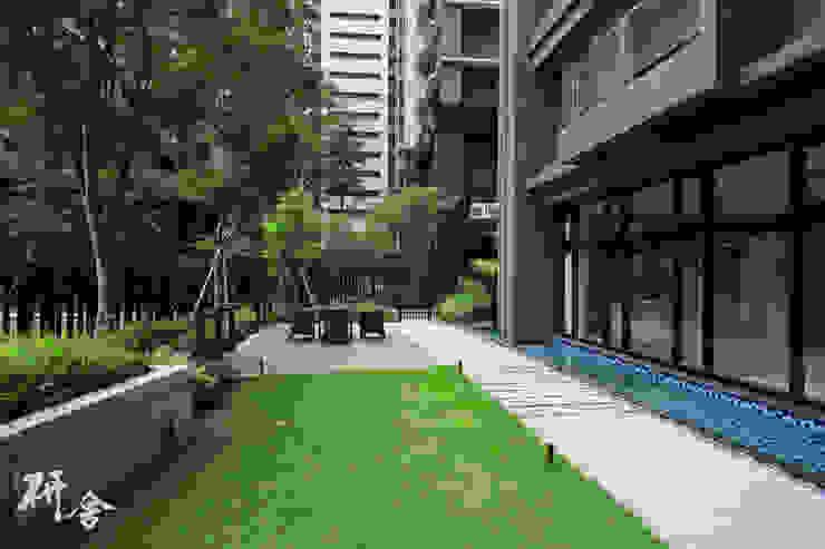 新北-合康新世代 研舍設計股份有限公司 陽台、門廊與露臺 配件與裝飾品