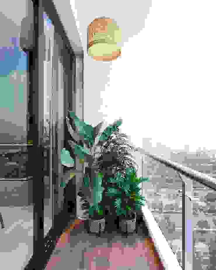 Thiết kế nội thất hiện đại căn hộ The Nassim – ICON INTERIOR ICON INTERIOR Hành lang, sảnh & cầu thang phong cách hiện đại