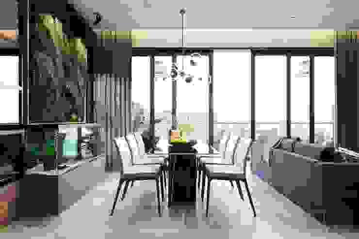 Thiết kế nội thất hiện đại căn hộ The Nassim – ICON INTERIOR ICON INTERIOR Phòng ăn phong cách hiện đại