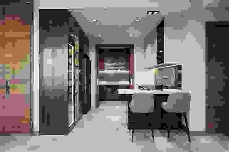 Thiết kế nội thất hiện đại căn hộ The Nassim – ICON INTERIOR ICON INTERIOR Nhà bếp phong cách hiện đại