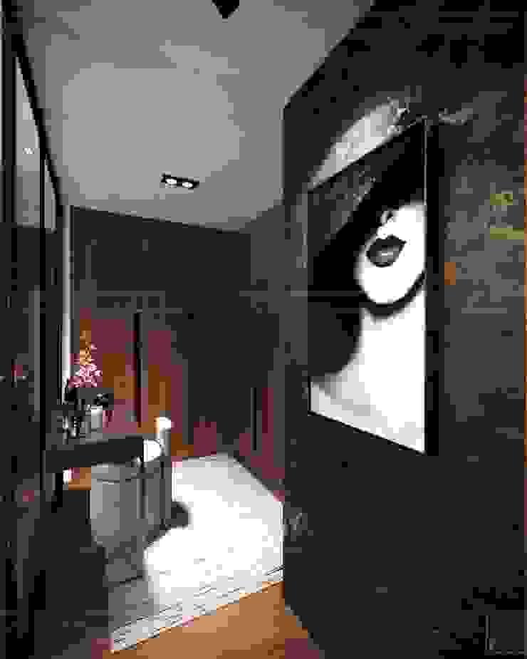 Thiết kế nội thất hiện đại căn hộ The Nassim – ICON INTERIOR ICON INTERIOR Phòng thay đồ phong cách hiện đại