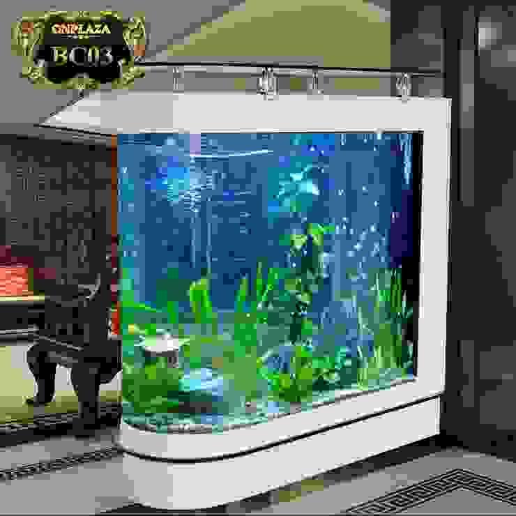 Bể cá thủy sinh văn phòng nhập khẩu cao cấp BC03 bởi Công Ty Thi Công Và Thiết Kế Tiểu Cảnh Non Bộ