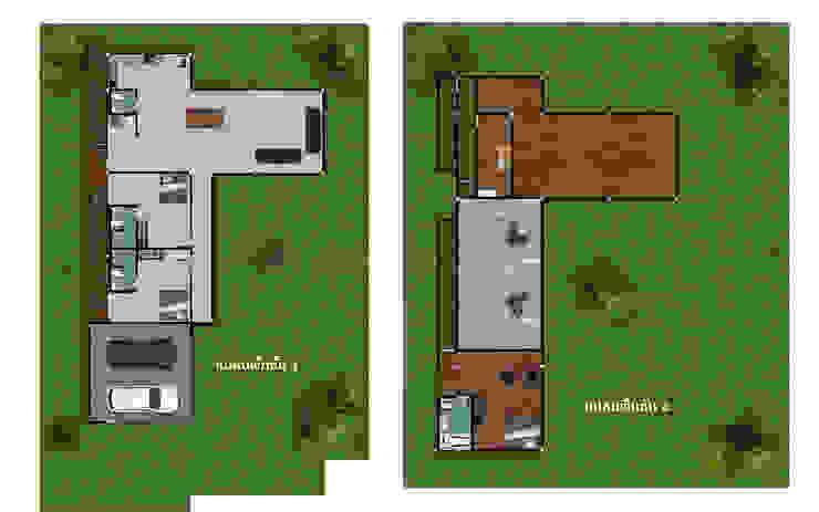 - โครงการก่อสร้าง บ้านสไตล์โมเดิร์น – โดย บริษัท พี นัมเบอร์วัน ดีไซน์ แอนด์ คอนสตรัคชั่น จำกัด โมเดิร์น