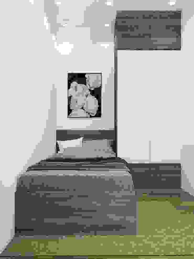 Tủ quần áo phòng giúp việc: hiện đại  by NỘI THẤT XLINE, Hiện đại Đồng / Đồng / Đồng thau
