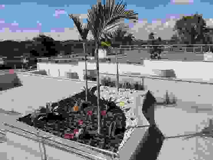 San Diego Suites Pampulha: Terraços  por Marcelo Sena Arquitetura,Moderno