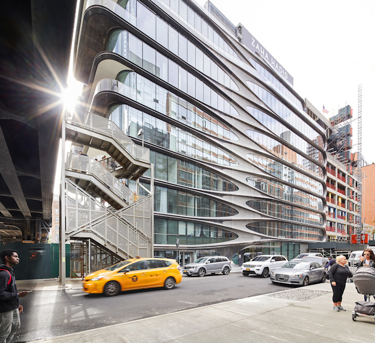520 West 28th_New York City Casas de estilo minimalista de Zaha Hadid Architects Minimalista Concreto