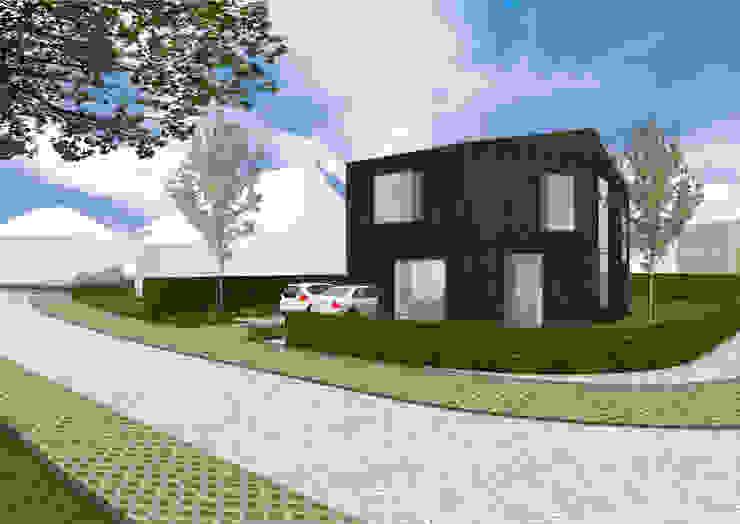 Nieuwbouw duurzaam woonhuis Vijverberg Doetinchem van Dick van Aken Architectuur
