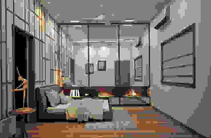 Bedroom Design Ideas:  Bedroom by Inside Element