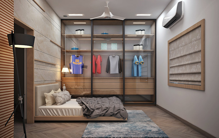 Bedroom by Inside Element,