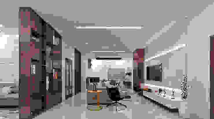 Living room:  Living room by Inside Element