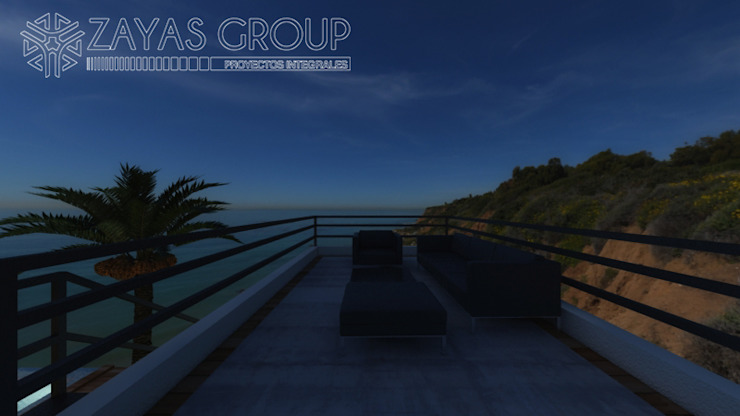 Terraza Zayas Group Balcones y terrazas modernos