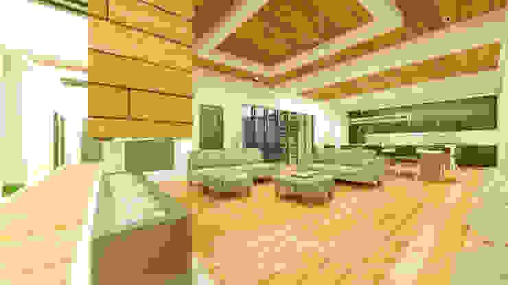 Sala comedor cocina: Salas de estilo  por Zayas Group, Moderno