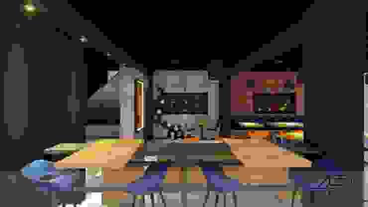by Analieth Reyes - Arquitectura y Diseño Concrete