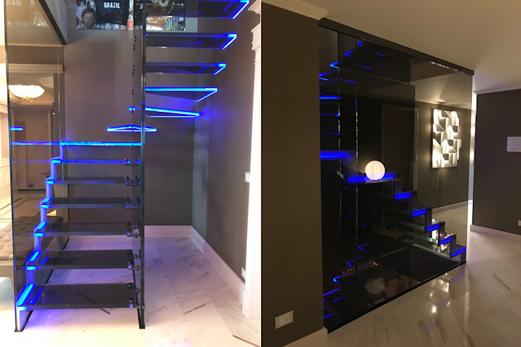 Mistral Londra Mix by Siller Treppen/Stairs/Scale Modern Glass