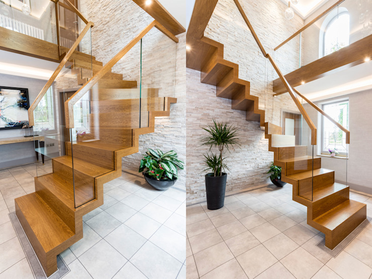 Zig-Zag Royal by Siller Treppen/Stairs/Scale Modern Wood Wood effect