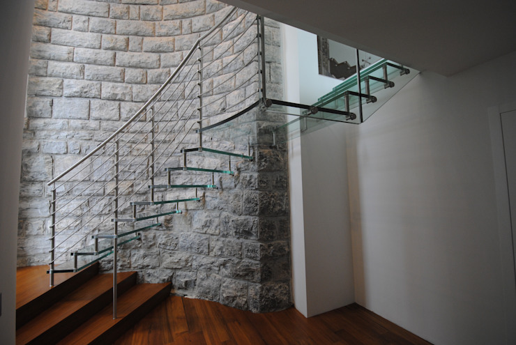Sevilla Glass Curve by Siller Treppen/Stairs/Scale Modern Glass