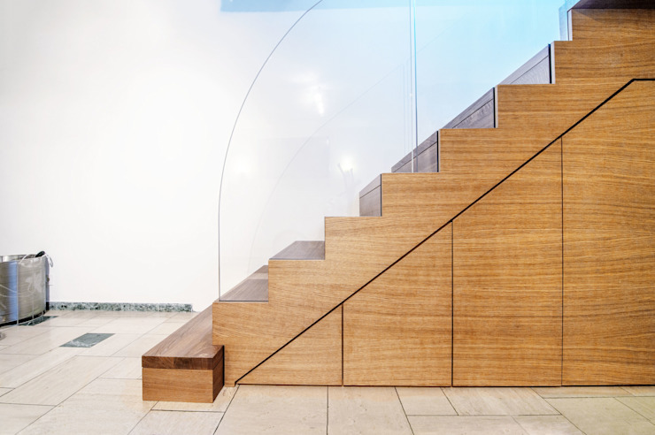 Zig-Zag Case Siller Treppen/Stairs/Scale Stairs Wood Brown