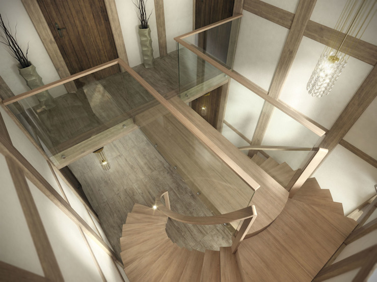 Anaconda Siller Treppen/Stairs/Scale Stairs Wood Brown