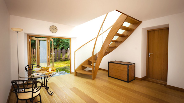 Bristol Siller Treppen/Stairs/Scale Stairs Wood Brown