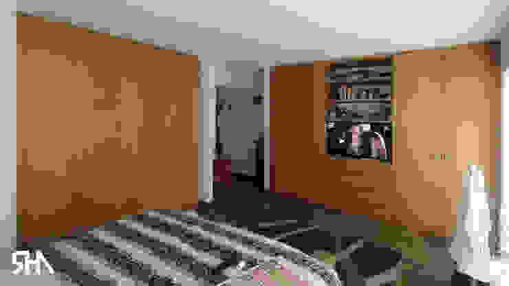 Dormitorio principal Dormitorios de estilo moderno de homify Moderno Madera Acabado en madera