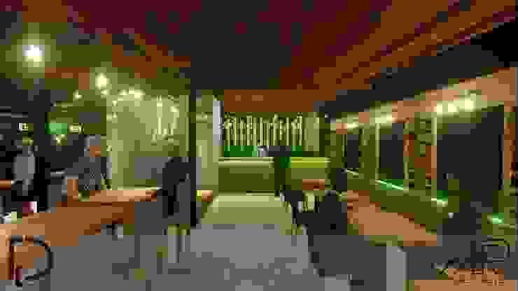 BARRA de Analieth Reyes - Arquitectura y Diseño Moderno Madera Acabado en madera