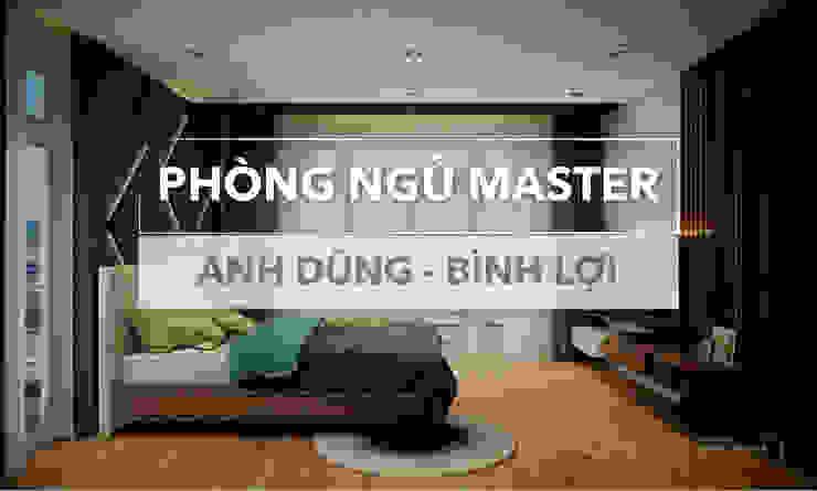 Modern style bedroom by Nội thất Thành Nam - Thiết kế thi công nội thất chuyên nghiệp Modern Stone