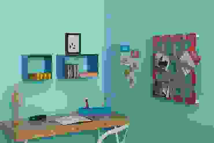 Studio con portaoggetti PETTINE blu turchese Mipiacemolto CasaAccessori & Decorazioni Metallo