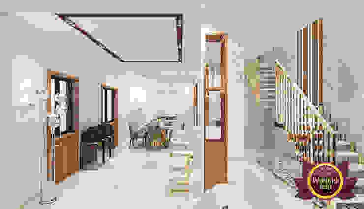 Modern Luxurious Dining Area by Luxury Antonovich Design