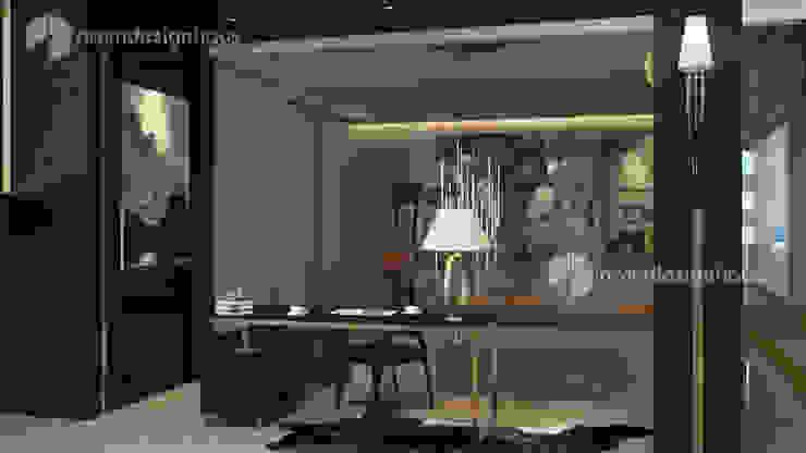 study table, interior design malaysia Norm designhaus Modern style bedroom