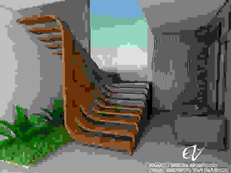 من Eduardo Zamora arquitectos حداثي خشب Wood effect