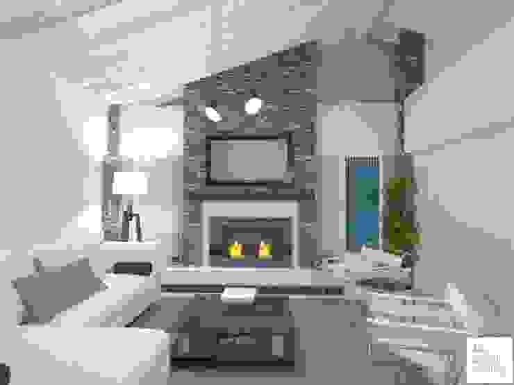 Modern living room by Arquimundo 3g - Diseño de Interiores - Ciudad de Buenos Aires Modern