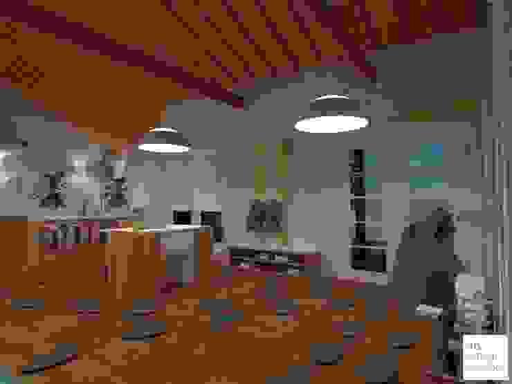 Scandinavische scholen van Arquimundo 3g - Diseño de Interiores - Ciudad de Buenos Aires Scandinavisch