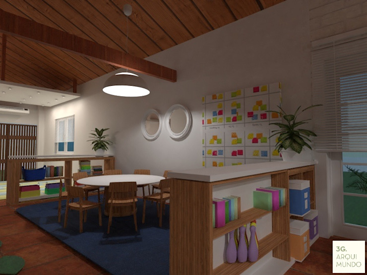 Schools by Arquimundo 3g - Diseño de Interiores - Ciudad de Buenos Aires,