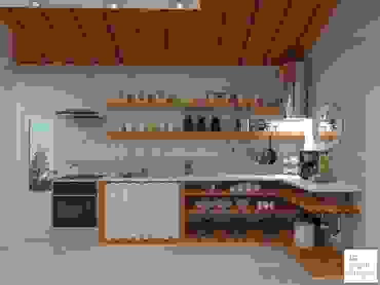 โดย Arquimundo 3g - Diseño de Interiores - Ciudad de Buenos Aires สแกนดิเนเวียน