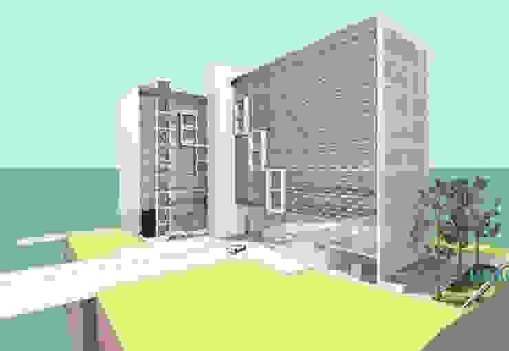 Edifício de escritórios com 2 blocos Screenproject Consulting Engineers Lda Escritórios