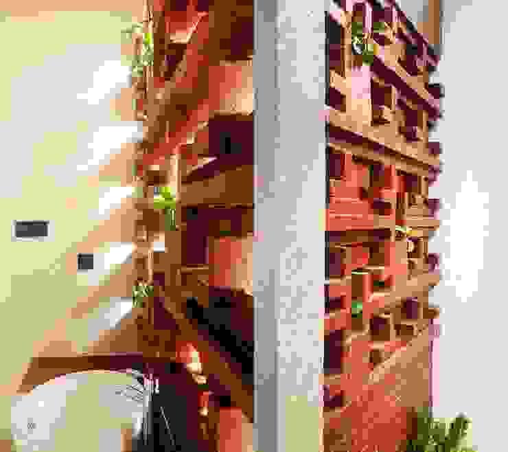 Cattleya Art Studio & Residence Kamar Mandi Tropis Oleh Mandalananta Studio Tropis Batu Bata