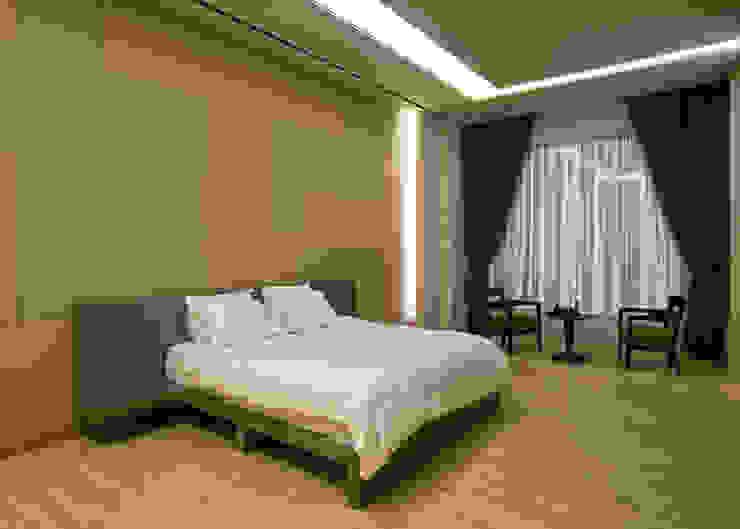 Guest-room 모던스타일 미디어 룸 by 피투엔디자인 _____ p to n design 모던