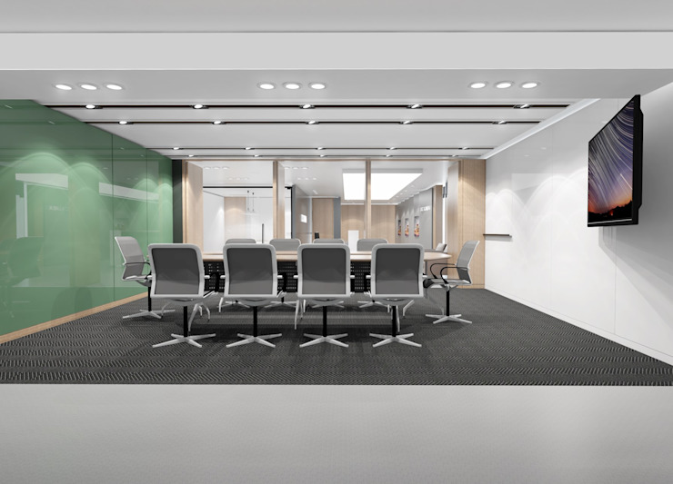 Meeting-room by 피투엔디자인 _____ p to n design 모던