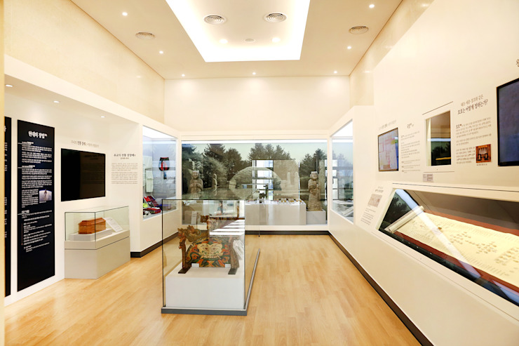 장례문화전시시설 모던 스타일 박물관 by 피투엔디자인 _____ p to n design 모던