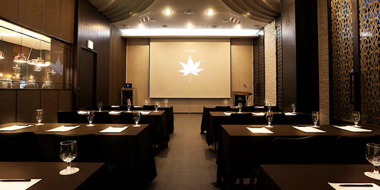 1F Banquet-room 모던 스타일 호텔 by 피투엔디자인 _____ p to n design 모던