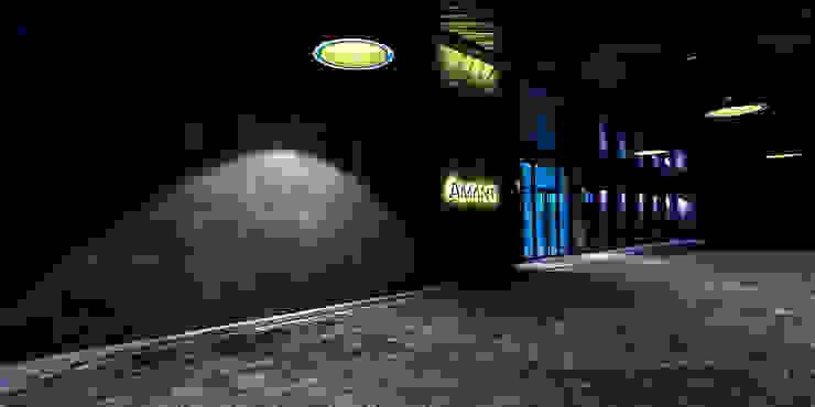1F Rear Entrance Pilotis 모던 스타일 호텔 by 피투엔디자인 _____ p to n design 모던