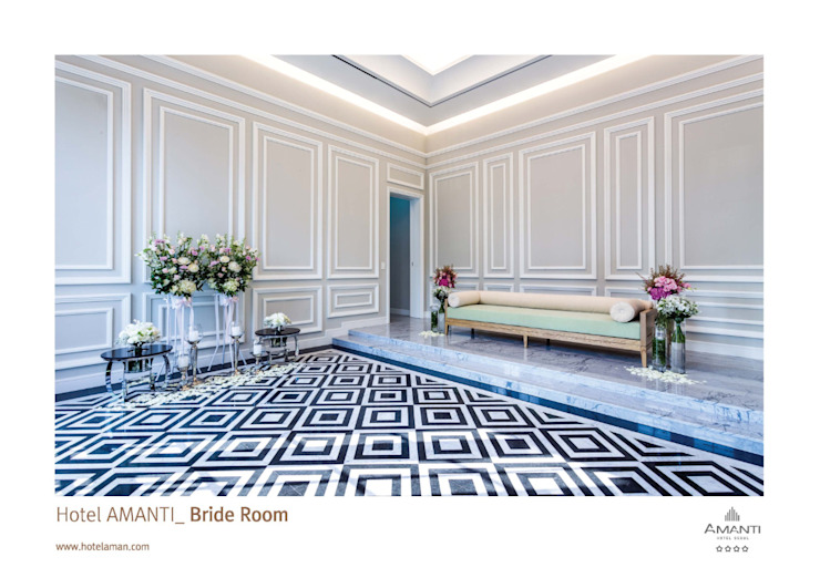 amanti Hotel seoul. 2F Wedding 미니멀리스트 스타일 호텔 by 피투엔디자인 _____ p to n design 미니멀