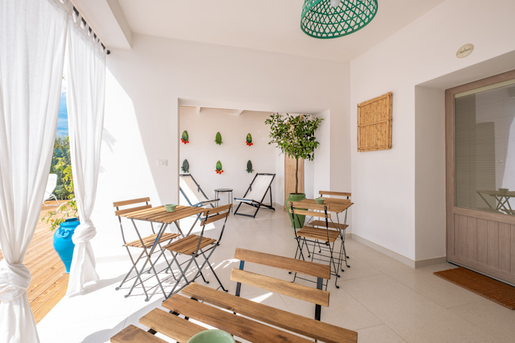Mediterranean style garden by ABBW angelobruno building workshop Mediterranean