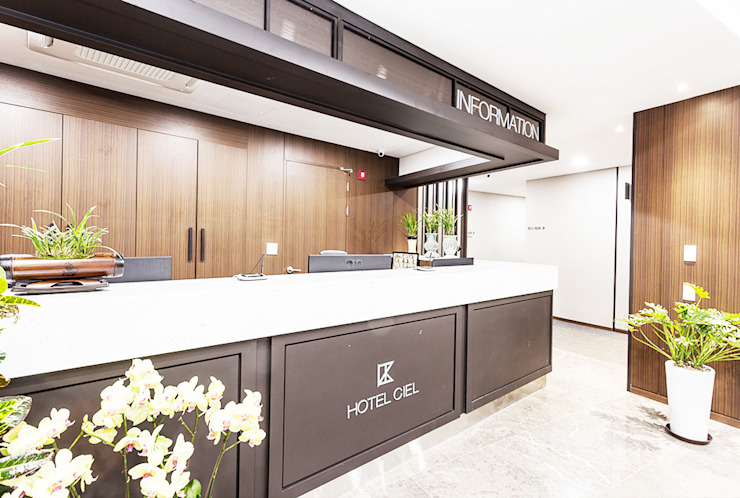 Dongtan Ciel Hotel 모던 스타일 호텔 by 피투엔디자인 _____ p to n design 모던