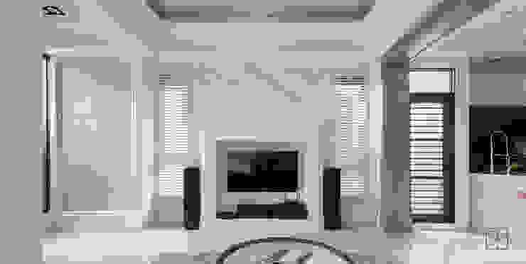 大理石電視牆 by 禾廊室內設計 Classic