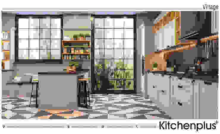 Cocinas de estilo  por Kitchenplus